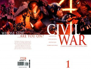 Marvel Civil War #1 (2006) Nark Millar, Steve McNiven, Dexter Vines, Morry Hollowell