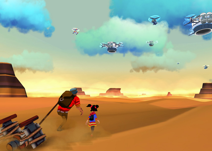 Cloud Chasers: A Game About Immigration and Glitches