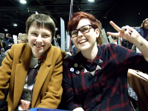 Lucie Ebrey & Izzi Ward, Thought Bubble, 2015