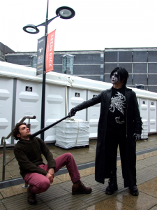 Sting cosplay, Thought Bubble, 2015