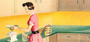 Detail from a 1954 Formica Ad. Source: Flickr.