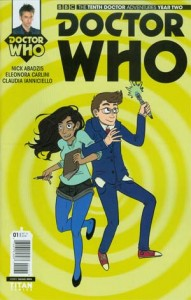 Doctor Who Tenth Doctor Issue 1 Smith Variant