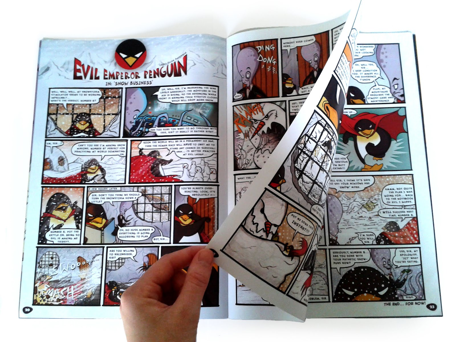 Evil Penguin 2 photo, Laura Ellen Anderson, Phoenix/David Fickling Books