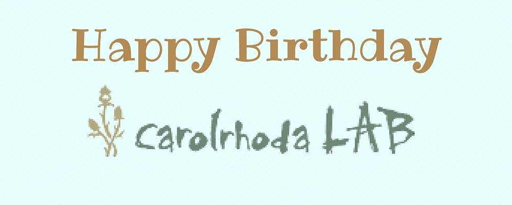 Happy Birthday Carolrhoda Lab!