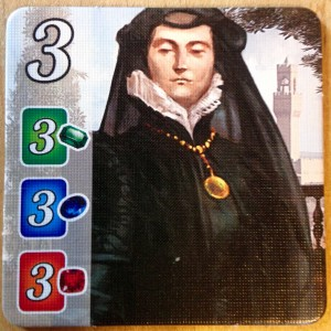 An image of a nun (maybe) from Splendor, Space Cowboys, 2014