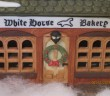 Christmas Dickens village White House Bakery