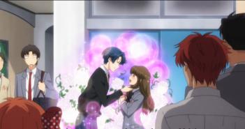 Monthly Girls' Nozaki Kun vol 1. Created by Isumi Tsubaki. 2014. Anime. Gif.