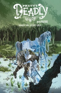 Pretty Deadly Issue 6 cover, writer kelly sue deconnick, artist emma rios, colorist jordie bellaire, 2015 image comics