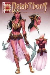 Dejah Thoris #1 (February 2016) | Dynamite Comics | Writer: Frank J. Barbiere, Art: Francesco Manna