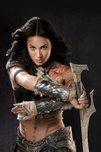 Lynn Collins as Dejah Thoris in John Carter (Disney 2012)