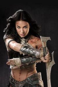Lynn Collins as Dejah Thoris in John Carter (Disney 2012)