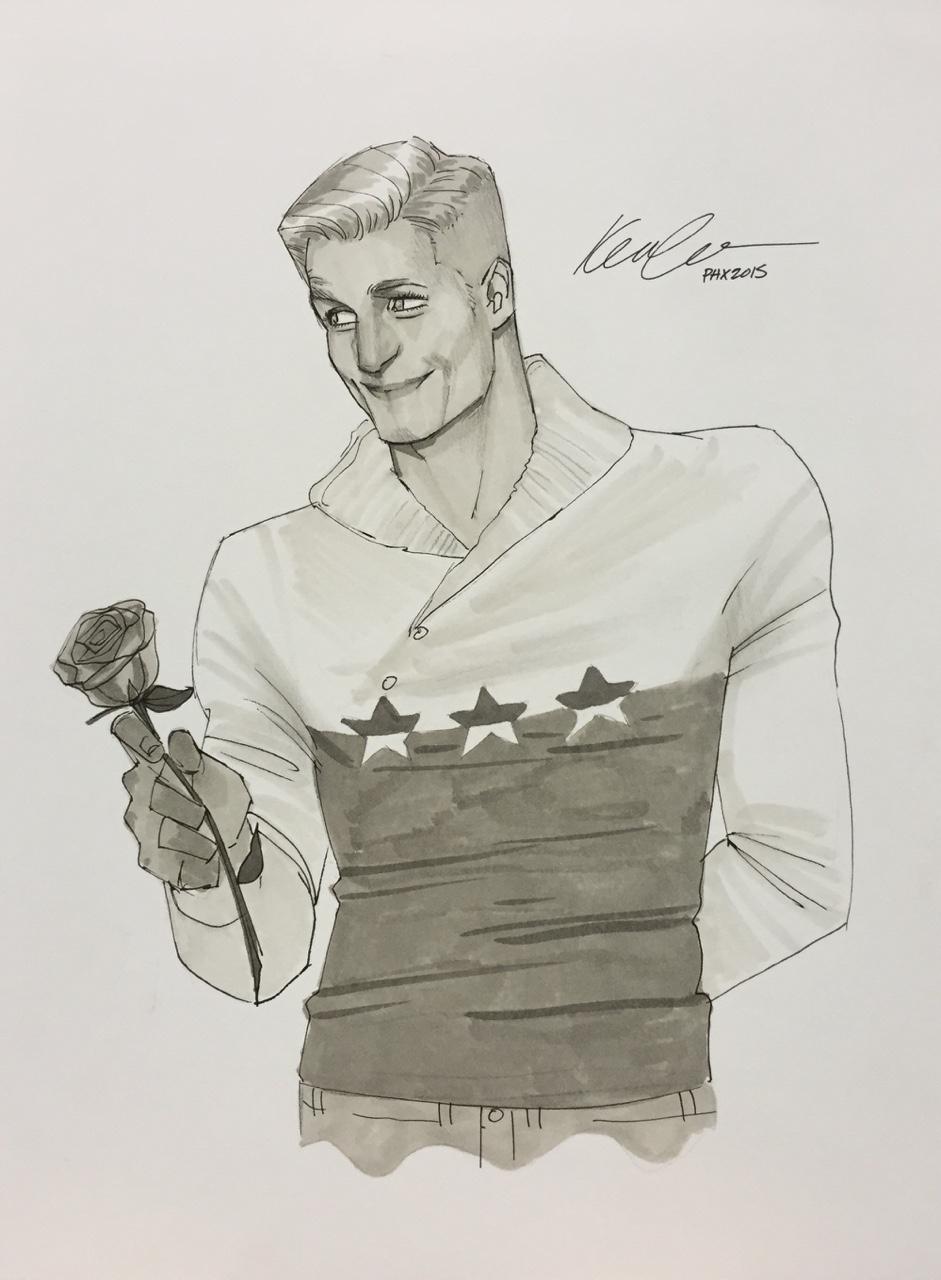 Kevid Wada's Captain America, 2015