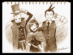 Screencap from Apollo Justice: Ace Attorney (Capcom, Nintendo DS, 2008) / image retrieved from Court Records fansite, http://www.court-records.net/screenshot/GS4/en-verasketch.png