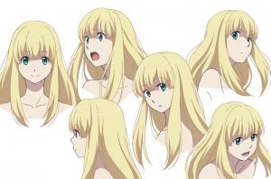 Aldnoah.Zero Asseylum Character Design - Aniplex, Olympus Knights