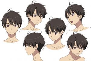 Aldnoah.Zero Inaho Character Design - Aniplex, Olympus Knights