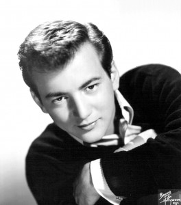 Bobby Darin; image retrieved from his Wikipedia page / https://upload.wikimedia.org/wikipedia/commons/7/7a/Bobby_Darin_1959.JPG