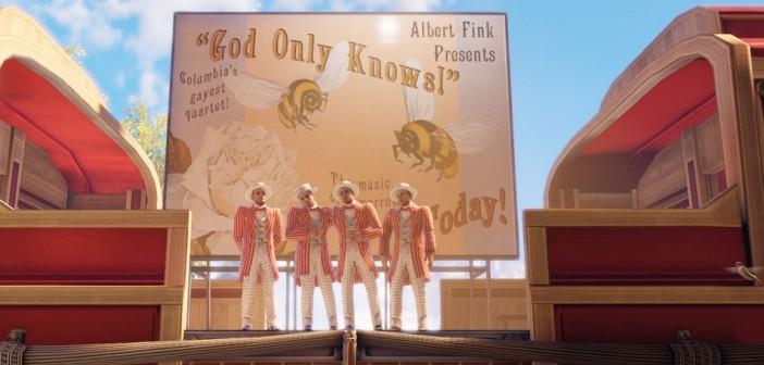 Image from Bioshock Infinite, 2013, Irrational Games / image retrieved from http://rack.2.mshcdn.com/media/ZgkyMDEzLzA3LzMxLzIxL0Jpb1Nob2NrR29kLjQ2NDM1LmpwZwpwCXRodW1iCTk1MHg1MzQjCmUJanBn/91645ed1/06b/BioShock-God-Only-Knows.jpg
