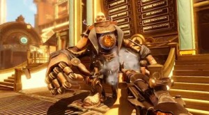 Image from Bioshock Infinite, 2013, Irrational Games / image retrieved from https://justanothervideogameblogblog.files.wordpress.com/2013/11/handyman.jpg