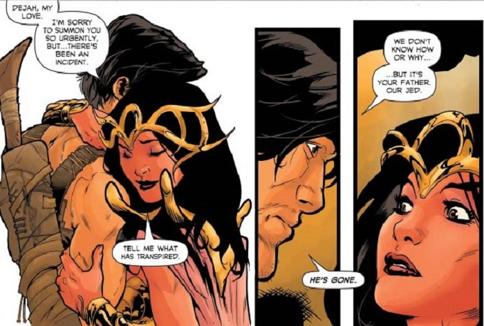 Dejah Thoris: Addressing The Princess of Mars