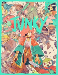 Junky by Guillame Singelin to be published by Peow Comics in 2016