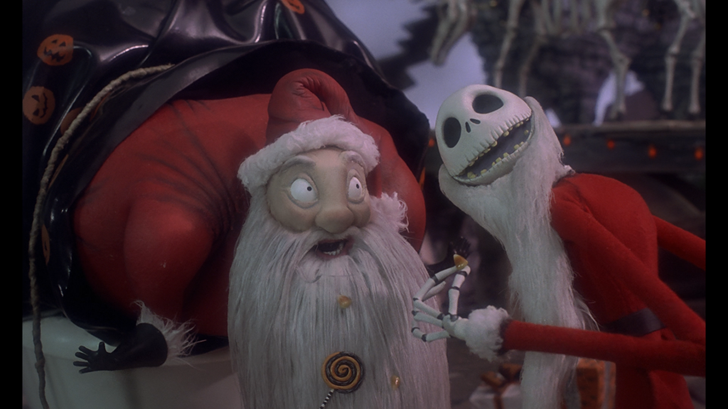 The-Nightmare-Before-Christmas Santa Clause