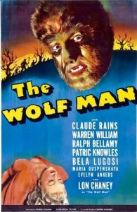 The Wolfman 1941 Poster Image IMBD