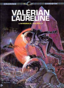 Valerian et Laureline French volume 1, creators Pierre Cristin and Jean-Claude Mézières, originally published in 1967