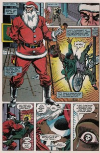 "Marvel Holiday Special #1992, ""The Spirit of the Season,"" written by Carl Potts, penciled by Rik Levins, inked by Al Milgrom, Colored by Paty Cockrum, lettered by Brad Joyce, Marvel, January 1993"