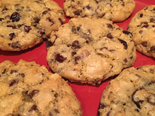 finished cookies