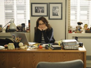 30 Rock Liz Lemon in her office