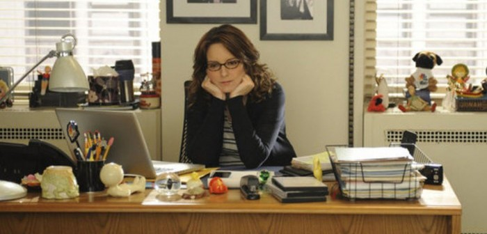 30 Rock Liz Lemon in her office