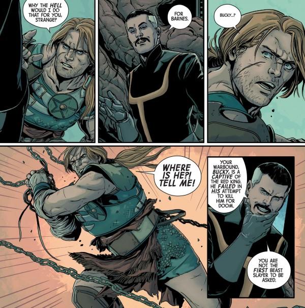 Planet Hulk, Steve Rogers & Bucky Barnes, Marvel Comics Secret Wars event 2015, Words: Sam Humphries, Art: Marc Laming, Colors: Jordan Boyd