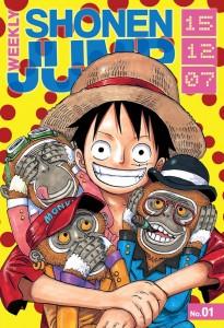 Weekly Shonen Jump featuring bestselling manga One Piece. Art by Eiichiro Oda. VIZ Media/Shueisha.