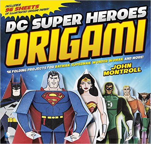 Trying Origami with the DC Superheroes