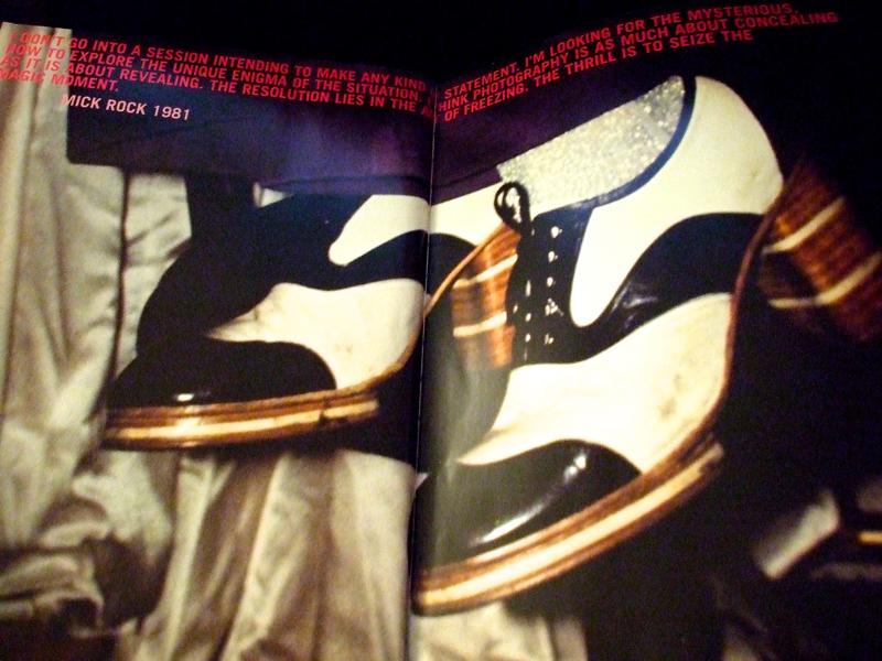 Mick Rock, Blood and Glitter: feet