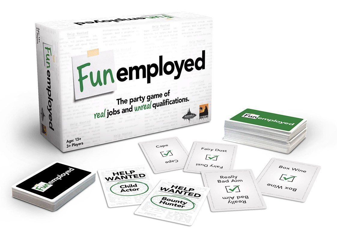 Funemployed Designer Anthony Conta Publisher IronWall Games Urban Island Games, LLC Year Published 2014 # of Players 3 − 20