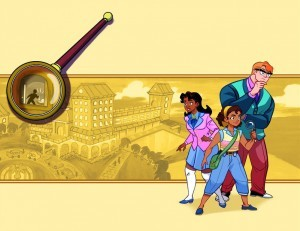 Goldie Vance promo image, writer Hope Larson, artist Brittney Williams, Boom Studios, 2016