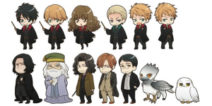 Harry Potter merchandise from Animate. J.K. Rowling & Warner Brothers. Source: Muggle.net