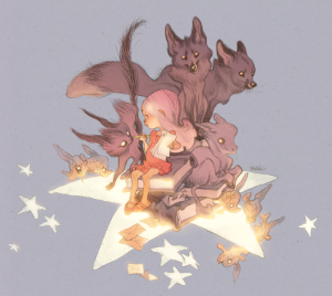 Image by Claire Wendling, 43rd Angouleme Grand Prix nominee, from her tumblr clairewendlingblog