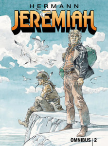 Jeremiah English-language Omnibus volume 2 cover, creator Hermann Huppler, Dark Horse comics