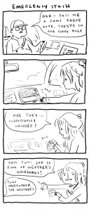 Kate Beaton Christmas 2015 comic, Kate Beaton's tumblr