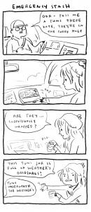 Kate Beaton Christmas 2015 comic, Kate Beaton's tumblr