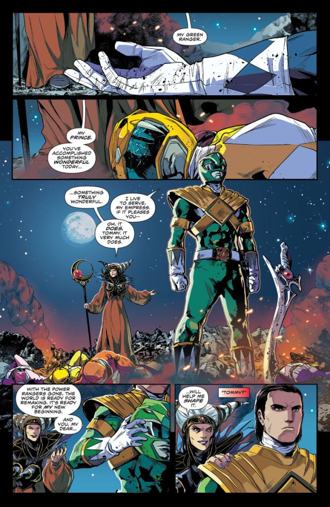 MightyMorphinPowerRangers, Kyle Higgins (Writer), Hendry Prasetya (Illustrator), Matt Herms (Colourist), Ed Dukeshire (Letterer)