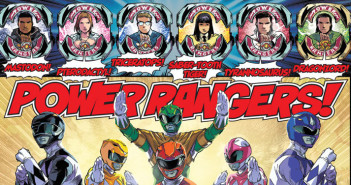 MightyMorphinPowerRangers, Kyle Higgins (Writer), Hendry Prasetya (Illustrator), Matt Herms (Colourist), Ed Dukeshire (Letterer) for BOOM!