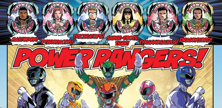 Review: Mighty Morphin Power Rangers Issue #0
