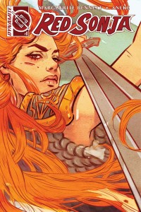 Red Sonja Vol 3, issue 1, Tula Lotay cover, Dynamite 2016
