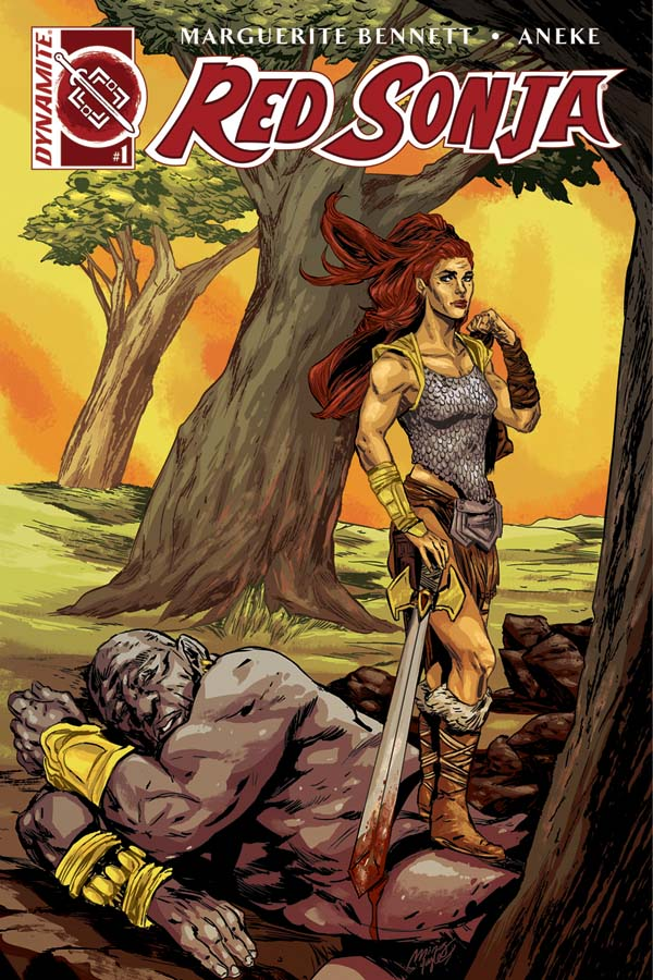 Red Sonja Vol 3, issue 1, Ming Doyle cover, Dynamite 2016
