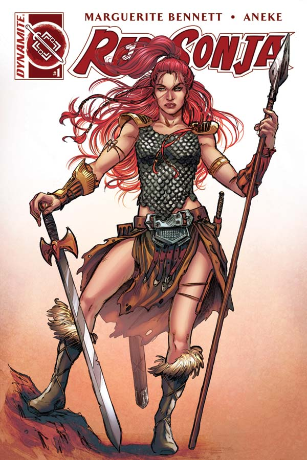 Red Sonja Vol 3, issue 1, Nicola Scott cover, Dynamite 2016