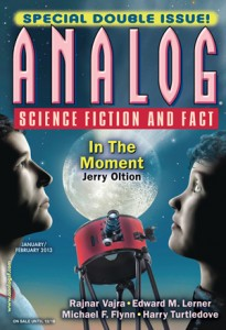 Cover of Analog magazine, January/February 2013.