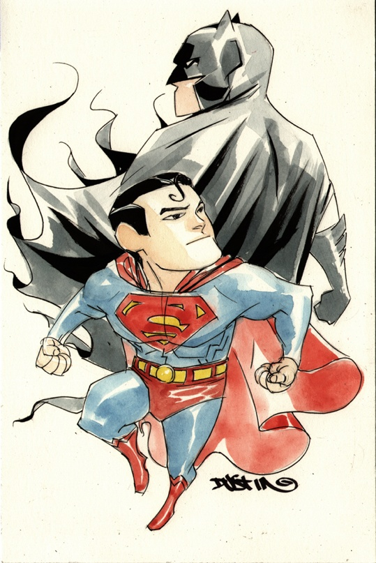 Batman/Superman by Dustin Nguyen.